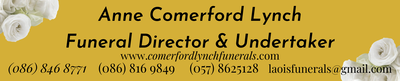 Anne Comerford Lynch Funeral Director and Undertaker | LAOIS UNDERTAKERS